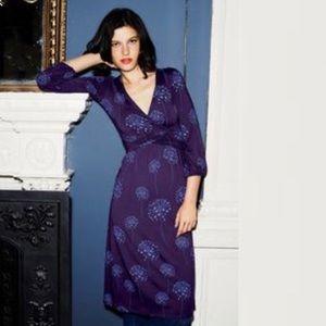 Boden Edie Wrap Style Midi Dress