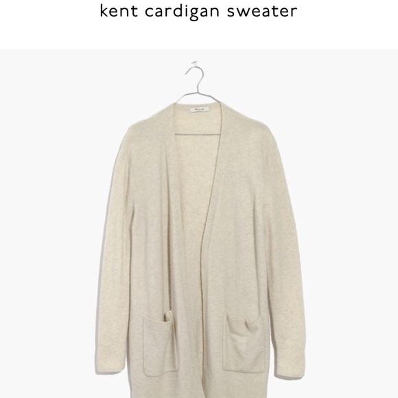 "NWT Madewell ""Kent"" cardigan sweater 752afd4aa"