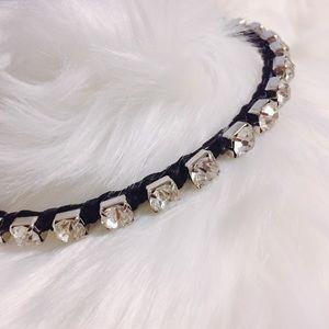 Accessories - Oversized cubic zirconia headband
