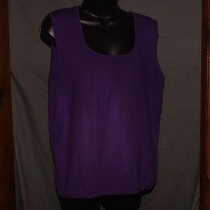 White Stag purple tank top XL