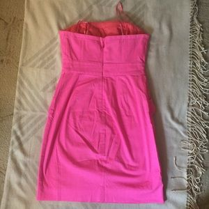 J. Crew Dresses - J Crew Factory Strapless Peplum Dress with Pockets