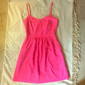 J Crew Factory Pink Slip Dress