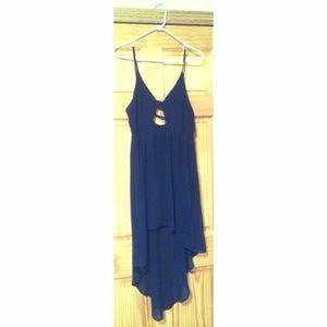 Lush Hi-Lo Cutout Dress