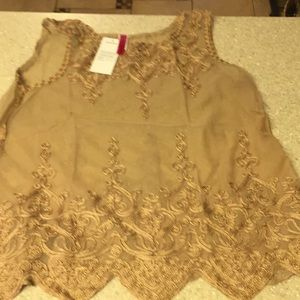 Gorgeous Gold Camisole