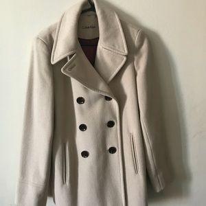 Tan Calvin Klein Winter Coat