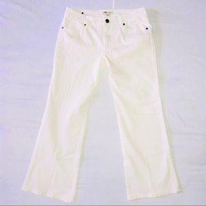 CAbi Jeans White Bootcut Jeans Pants 5 Pocket