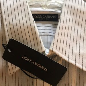 New Dolce & Gabbana Dress Shirt