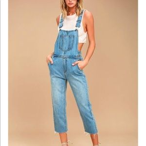 EVIDNT Overalls - NWT