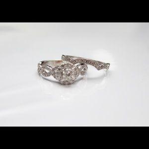 Neil Lane Engagement ring and Wedding band