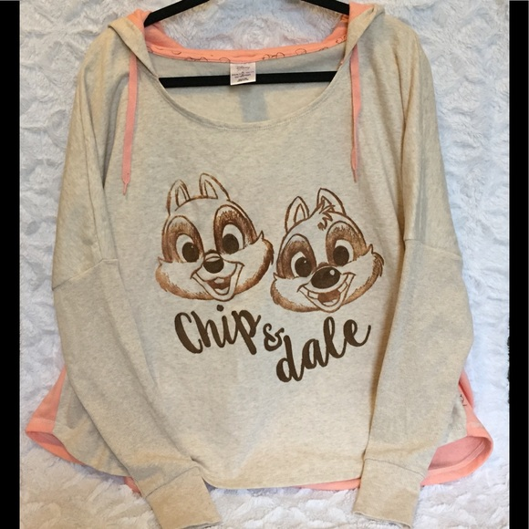 080f6af0 Disney Tops | Store Chip And Dale Hoodie Adult Size Xl | Poshmark