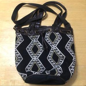AE cross-body Hobo Bag