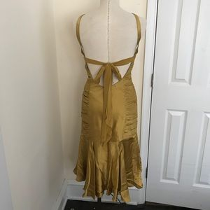 Vintage Dresses - 40's inspired 100% silk cocktail dress