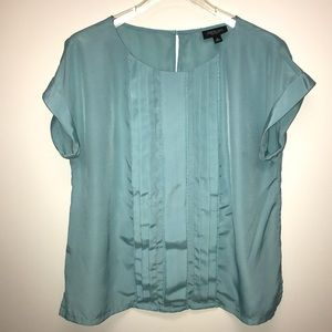Silky Jason Wu for Target pleated blue top