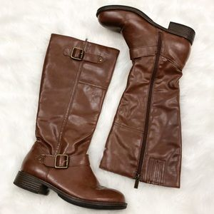 Kennth Cole Reaction • Brown Riding Boots