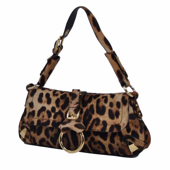 a271559bec5 Dolce & Gabbana Bags | Nwot Dolce Gabbana Leopard Real Pony Hair Bag ...