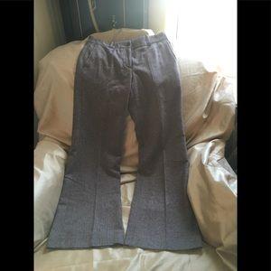 Brown tweed H&M pants