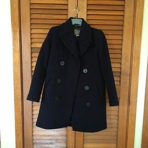 cc7c2cdf6 Jcrew stadium cloth captain pea coat
