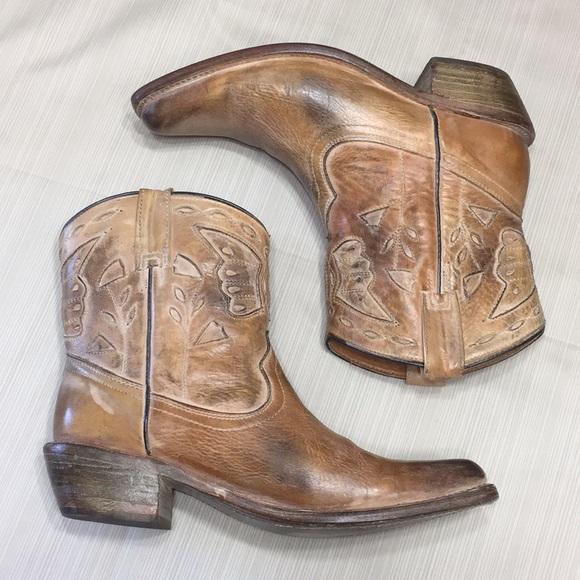 "c91dcc1775b Bed Stu ""Filly"" Tan Rustic Boots"