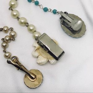 Vintage Jewelry - 🆕Vintage Sweater Clip Trio