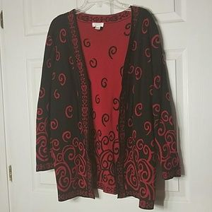 Christopher & Banks Open-front Cardigan