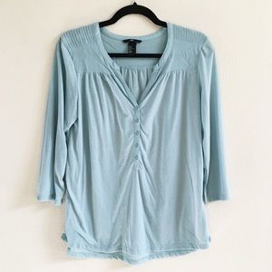 H&M Tops - aqua top