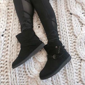 UGG Australia Black Karisa Boots