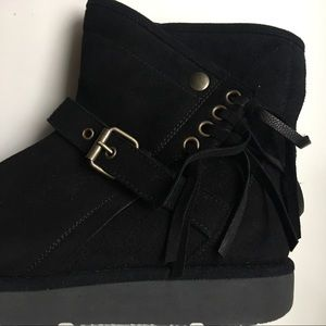UGG Shoes - UGG Australia Black Karisa Boots