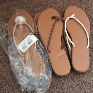 Bundle of 3 brand new Charlotte Russe flip flops