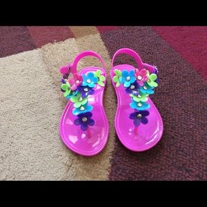Other - Girl toddler jelly sandal as 6/7