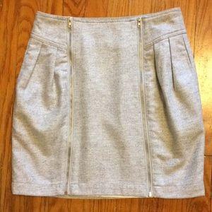 Silence & Noise Wool Blend Lined Skirt Sz. 0