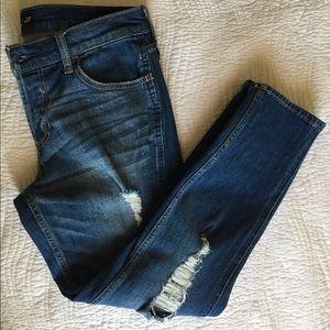 NBW Distressed Hollister Boyfriend Jeans