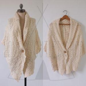 Anthropologie MOTH Shrug Cardigan   Boho Sweater