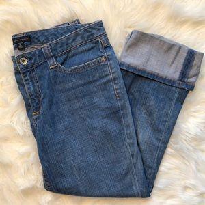 Banana Republic Cuffed Cropped Jeans
