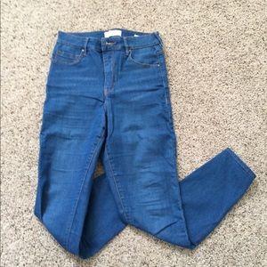 Pacsun Highrise Blue Jeans