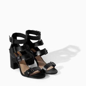 Zara Woman strappy Sandals