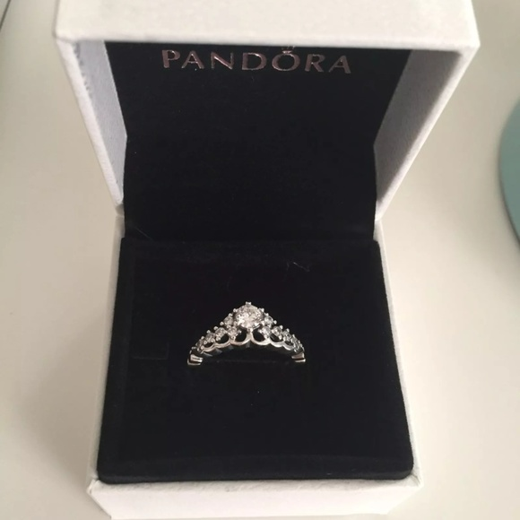 842713187 Pandora Jewelry | Fairytale Tiara Ring New 5 6 7 75 85 | Poshmark