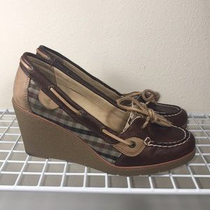 Sperry Godlfish Wedges - Great preowned condition!