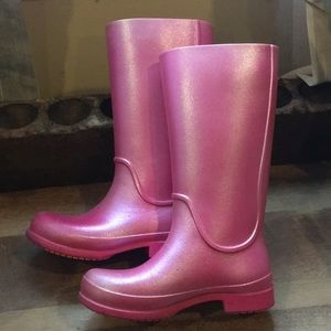 Tall CROC rain boots