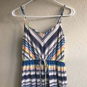 Mossimo Supply Co Stripped Maxi Dress