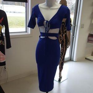 Dresses & Skirts - ROYAL BLUE MADNESS