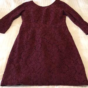 Merona lace dress