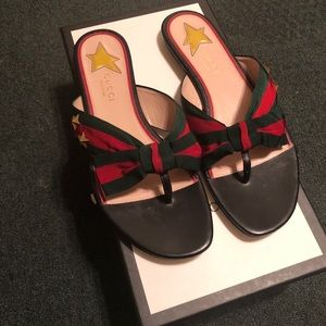 Gucci Sandal- Authentic Size 7 women