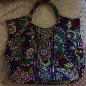 Vera Bradley Heather print hand bag