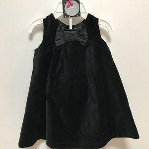 Black Velvet Carter's Dress