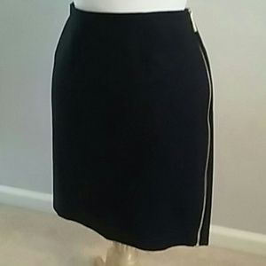 VINCE CAMUTO SIDE ZIPPER LINED PENCIL SKIRT SZ. 10