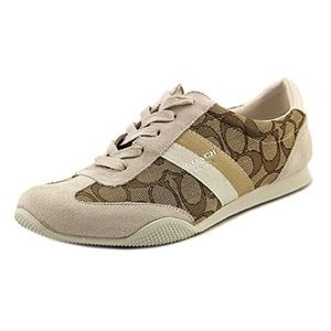 Coach Kelson Sneaker shoes suede signature C