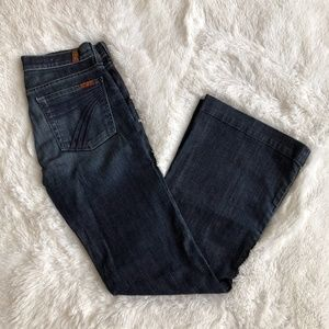 EUC 7 for all Mankind Lexie Petite Dojo Jeans 28