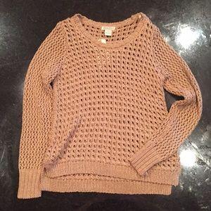 Lucky Brand Gold Sweater