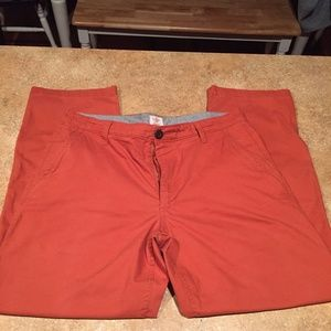 Dockers 34x30 orange chinos