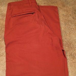 Dockers Pants - Dockers 34x30 orange chinos